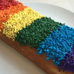 Sprinkled with Pride: The Rainbow Long John at Lucky's Doughnuts