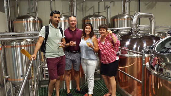 Vancouver Brewery Tours Group Photo