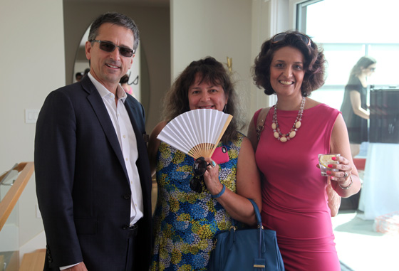 With Geoff Croll and Narges Nirumvala