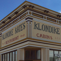 Dawson City Klondike Kate's cabins