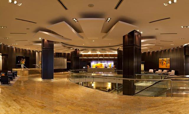 Lobby, Hotel InterContinental Toronto