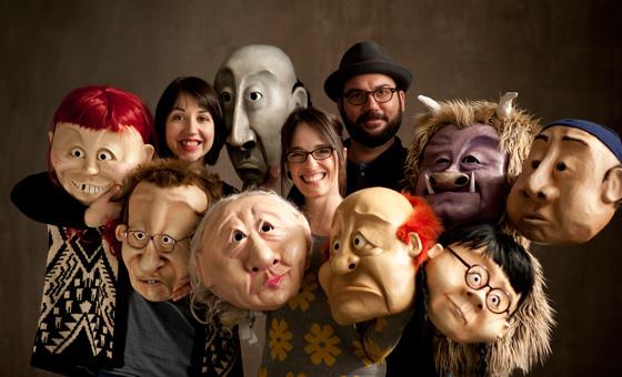 The Wonderheads Photo by Design Egg
