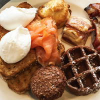 Fairmont Pacific Rim breakfast buffet