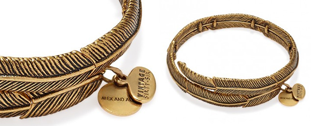 Alex and Ani Feather Spirit wrap