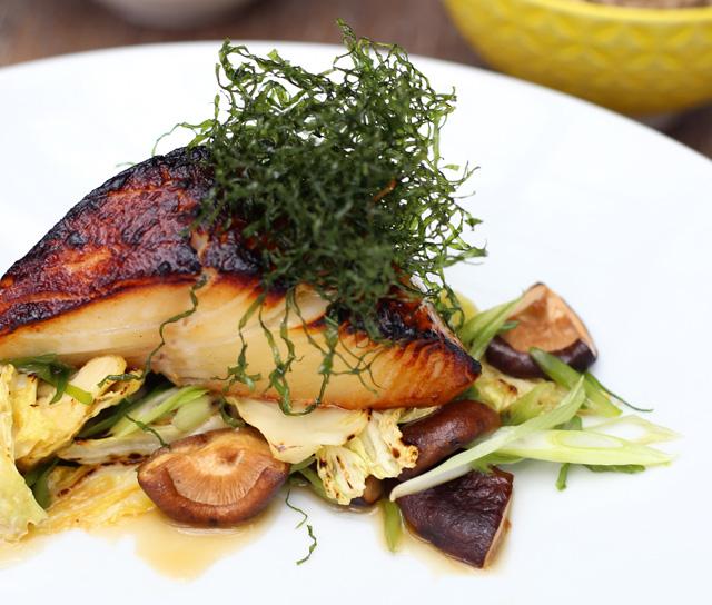 Miso-Marinated Sablefish
