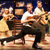 Broadway Across Canada's Once cast