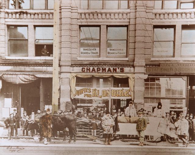 Chapmans Original Hastings Store in 1890