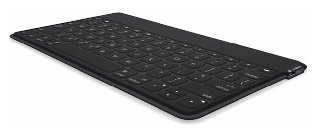 Logitech Keys to Go in black