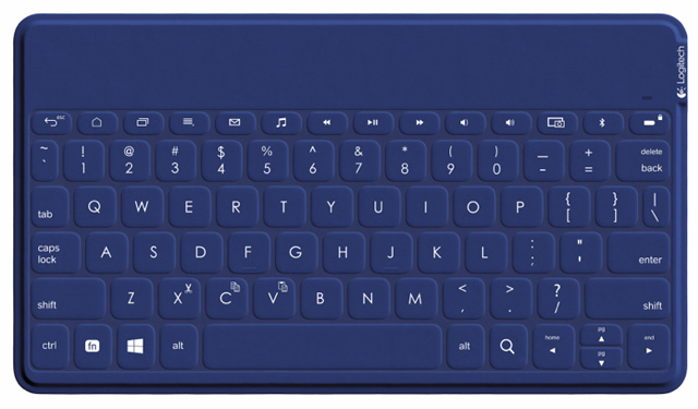 Logitech Keys to Go in blue