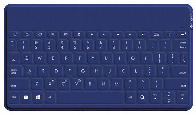 Logitech Keys to Go in blue