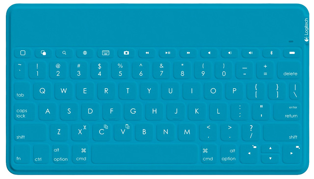 Logitech Keys to Go in teal