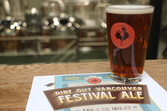 Big Rock Dine Out Vancouver Festival Ale