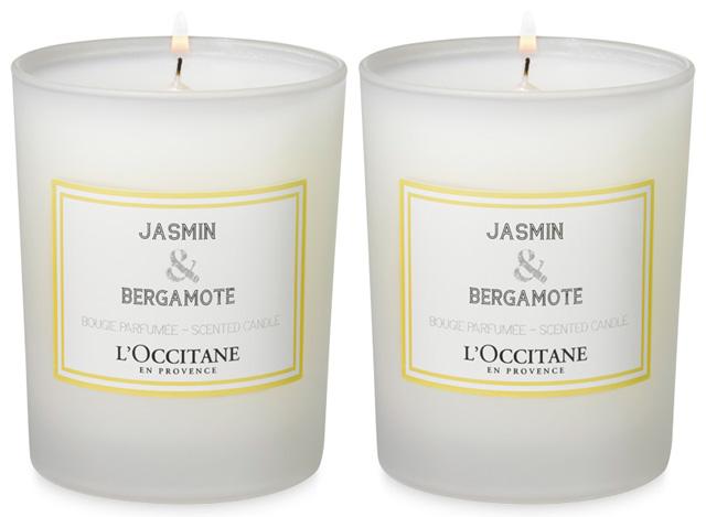L'Occitane Jasmin & Bergamote candle