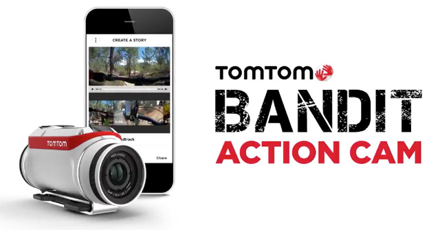 TomTom Bandit banner