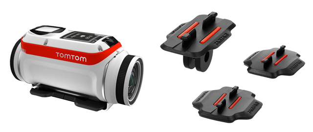 TomTom Bandit mounts