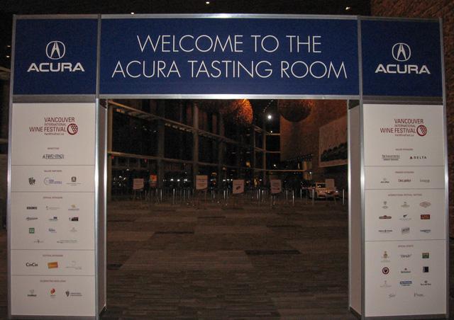 Acura Tasting Room