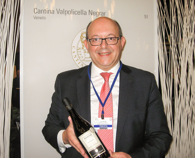 Cantina Valpolicella Negrar shown off by Luca Bissoli