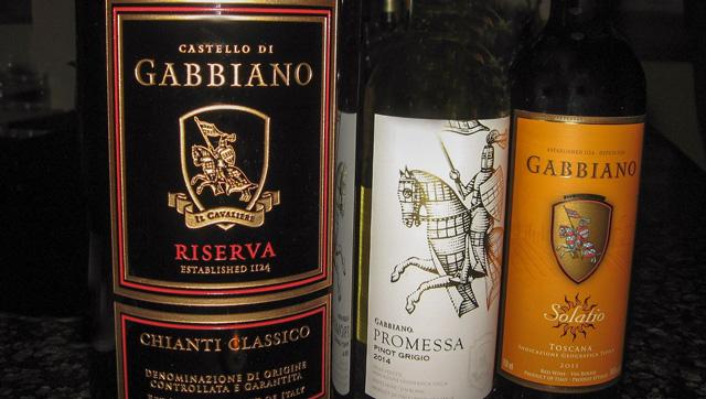 Gabbiano wines