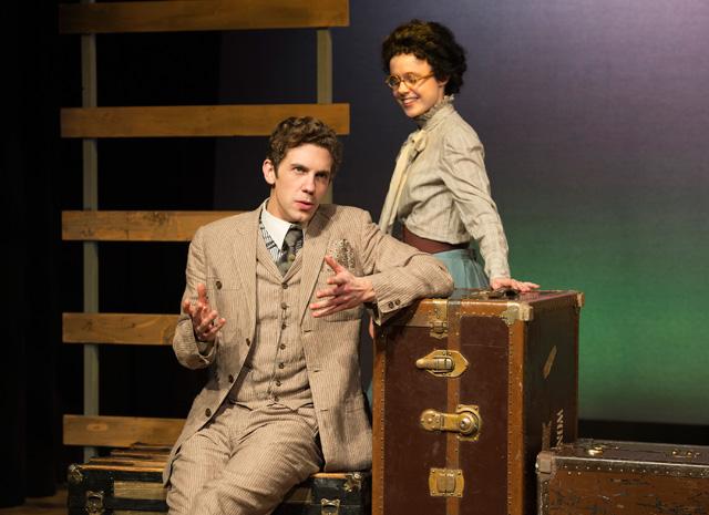 Gregory Radzimowski, Camille Legg in The Train Carr
