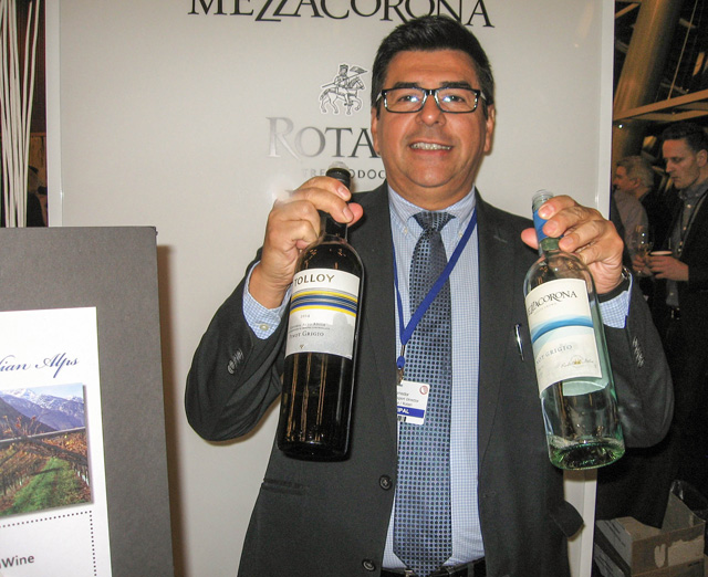 Leo Corredor of Gruppo Mezzacrona