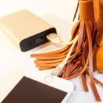 Where Tech Meets Fashion: Belkin's MIXIT Metallic Power Pack + Lightning to USB Leather Tassel