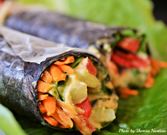 Nori Rice Paper Wraps