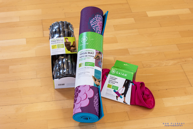 GAIAM yoga gear