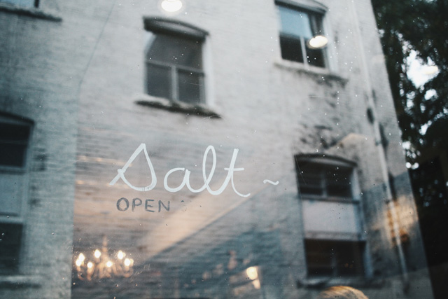 Salt Tasting Room, Gastown, Vancouver