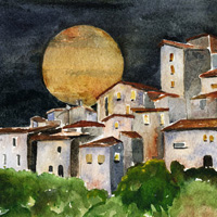 Under the Tuscan Moon image