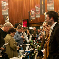 Vancouver International Wine Festival Tasting Room