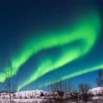 Yellowknife, NWT: Auroras Two Ways