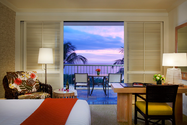 Hapuna guest room with view