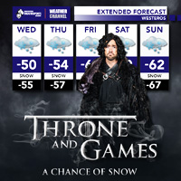 Throne and Games – A Chance of Snow
