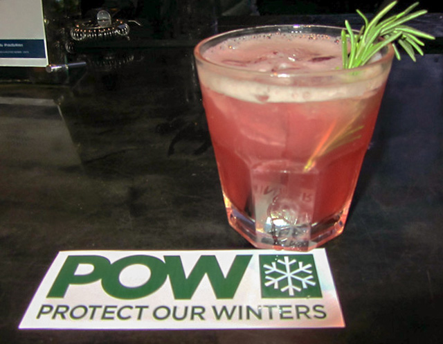 Finlandia cocktail, Protect Our Winters