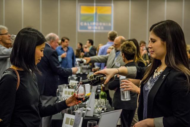 California Wine Fair; photo Mark Halliday