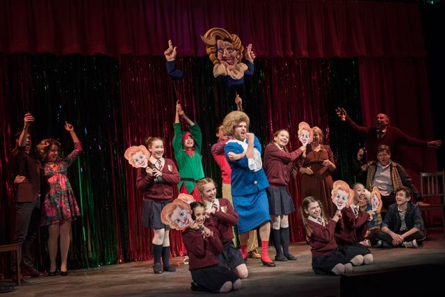 Billy Elliot cast at Arts Club Theatre