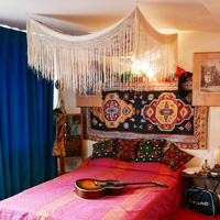 Jimi Hendrix bedroom, London