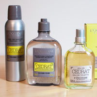 L'Occitane Cedrat products