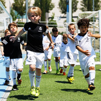 Real Madrid Foundation Summer Clinic