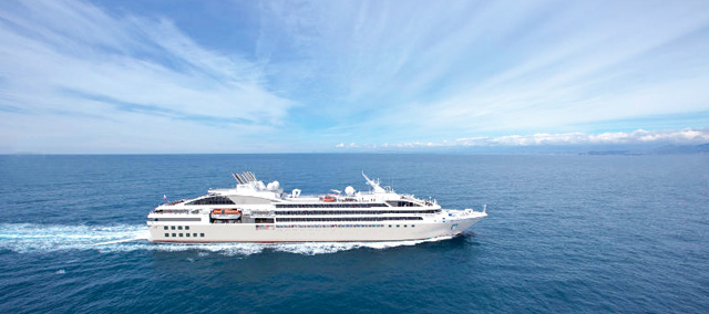 Le Soléal cruise ship, Vancouver