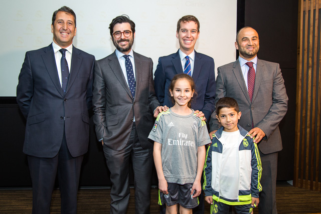 Real Madrid Foundation group photo, Vancouver