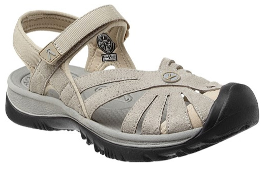KEEN Rose sandal, aluminum/neutral gray