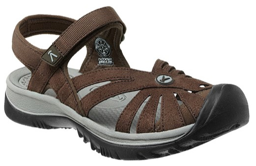 KEEN Rose sandal, cascade brown