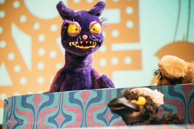 Cheshire Cat puppet