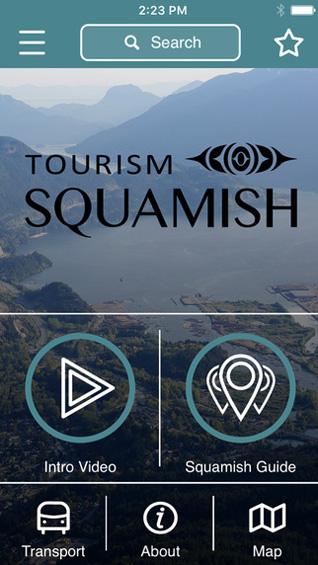 Explore Squamish app