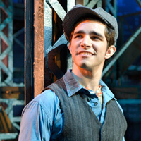 Joey Barreiro in Newsies