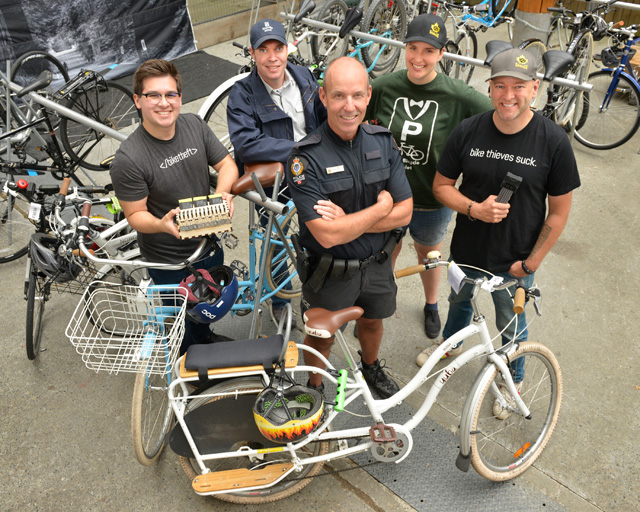 Operation Rudy, a partnership approach to combatting bike theft