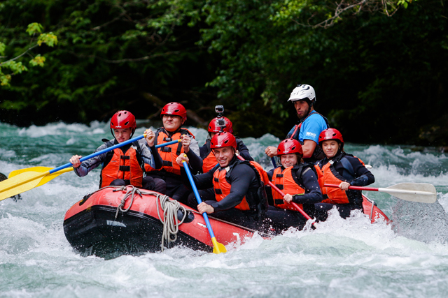 Wedge Rafting, Whistler