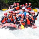 Rushing the Green River Rapids with Wedge Rafting Whistler