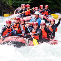 Wedge Rafting, Whistler